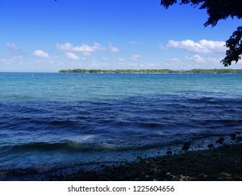 Beautiful beach in Davao Norte, southern Philippines