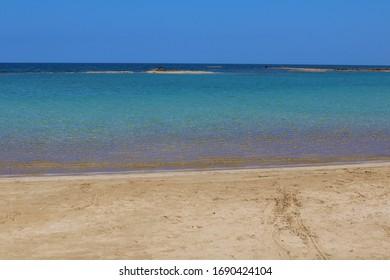 Beautiful Beach in Greece Cyprus