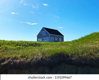 A beautiful beach house on the shores of Caraquet, New Brunswick, Canada