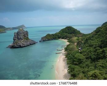 Beautiful beach in Ko Samui, Thailand