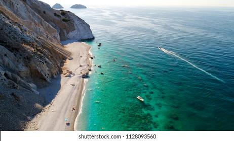 Beautiful beach Lalaria in Skiathos, Greece
