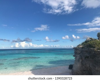 Beautiful beach in Lighthouse Point, Eleuthera, Bahamas