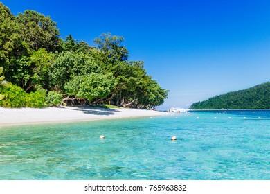 beautiful beach. Lipe island, Koh Lipe, Satun province Thailand