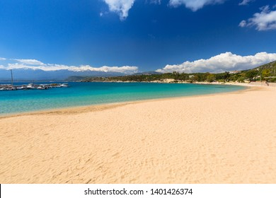 Beautiful beach at Marathi bay on Crete, Greece