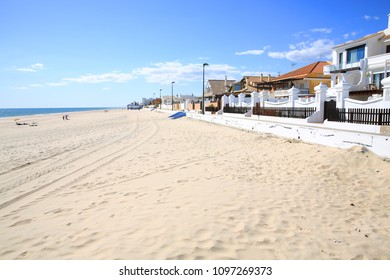 Beautiful beach in Matalascanas, Province Huelva, Andalusia, Spain