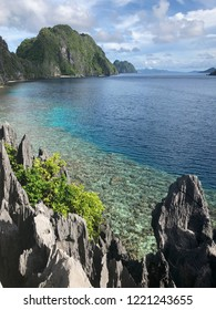 Beautiful beach in Matinloc Island, El Nido Palawan Philipines. Just only a few steps up to the hill near the Shrine, then you will see this beautiful panorama