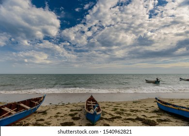 Beautiful beach near Rameshwaram, Tamilnadu, India