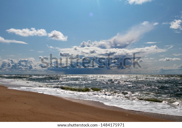 Beautiful Beach On Island Sylt Germany Parks Outdoor Stock Image
