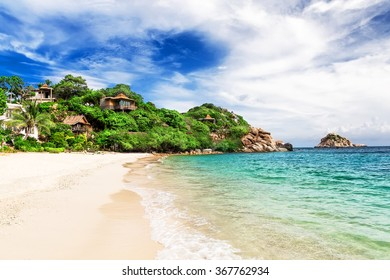 Beautiful beach on Koh Tao, Thailand