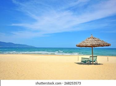 Beautiful beach on South China sea