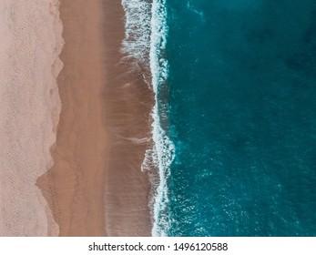 beautiful beach in peru