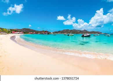 Beautiful beach, St Barths, Caribbean