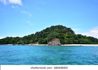 Beautiful beach and stone at Khai Island, Andaman Thailand