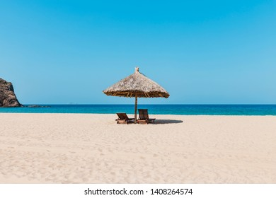 The beautiful beach for summer.