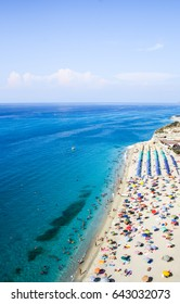 Beautiful beach in Tropea / Calabria / Italy / June 2011