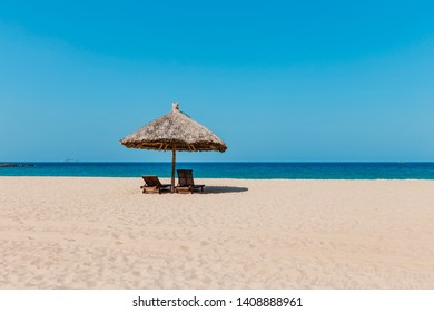 The beautiful beach at Viet Nam