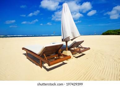 beautiful beach without people