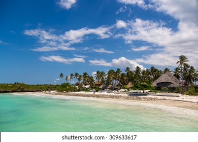 Beautiful beach in Zanzibar, Tanzania, Africa
