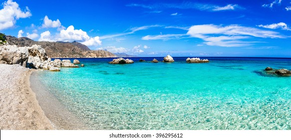 beautiful beaches of Greek islands - Apella in Karpathos