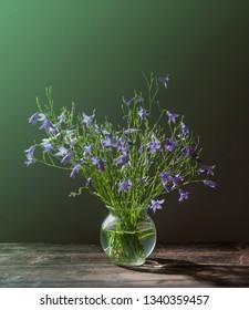 Beautiful bell shaped flowers bouquet