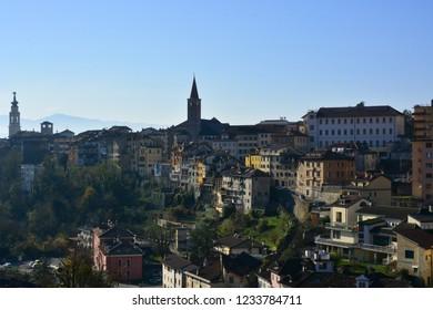 the beautiful Belluno, an Italian city in the Dolomites