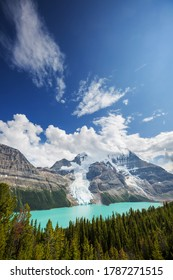 Beautiful Berg lake and Mount Robson in summer season, Canada - Shutterstock ID 1787271515