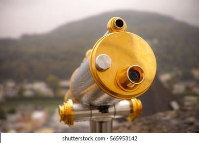 Beautiful binoculars in Salzsburg