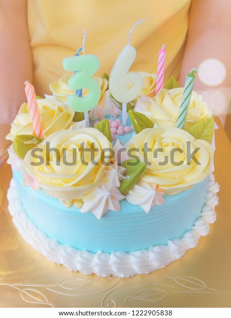 Astounding Beautiful Birthday Cake Decorate By Rose Stock Photo Edit Now Birthday Cards Printable Nowaargucafe Filternl