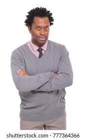 Beautiful black mature man