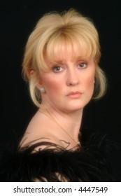 Beautiful Blonde Female In Soft Focus
