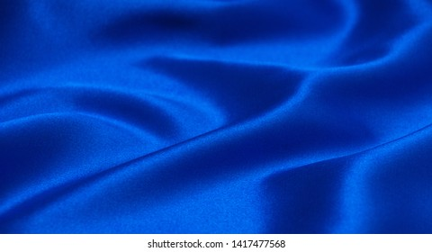Beautiful blue background with cloth