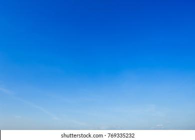 beautiful Blue sky background.