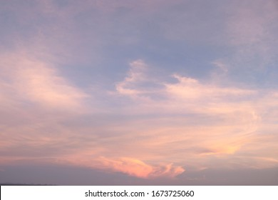 Beautiful Blue sky background with clouds