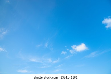 Beautiful blue sky background with cloudy.