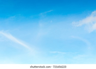 Beautiful Blue Sky Background Template With Some Space for Input Text Message