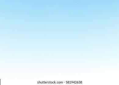 Beautiful Blue sky gradient background