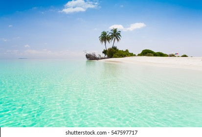 beautiful blue sun sea tropical nature background holiday luxury  resort island atoll about coral reef.