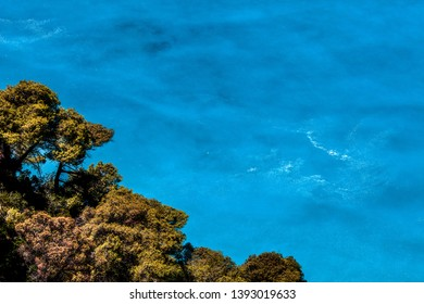 Beautiful blue water background and textures