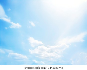 Beautiful blue and white sky background textures