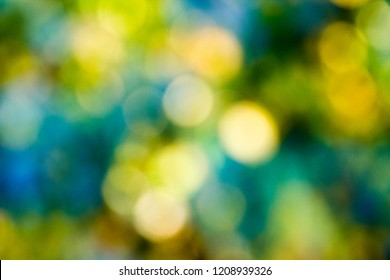 Beautiful blurry abstract and colorful bokeh background for your designs.