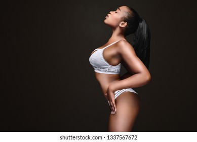 beautiful body of black woman