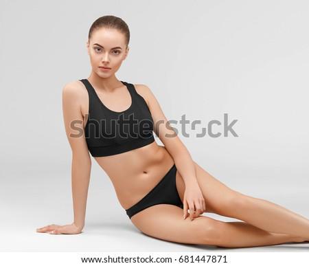 0bae1d72ea2ba Beautiful Body Woman Good Shape Sport Stock Photo (Edit Now ...