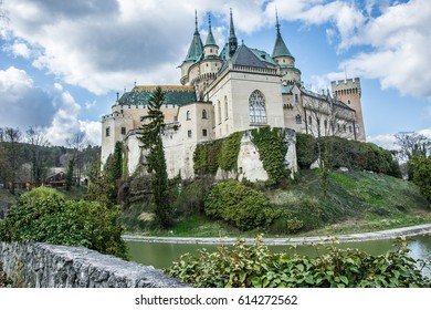 Beautiful Bojnice Castle in Slovakia, well worth the visit.