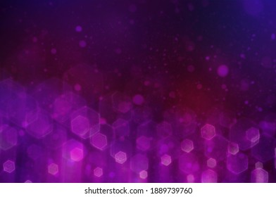 beautiful bokeh in the background of crimson and purple
