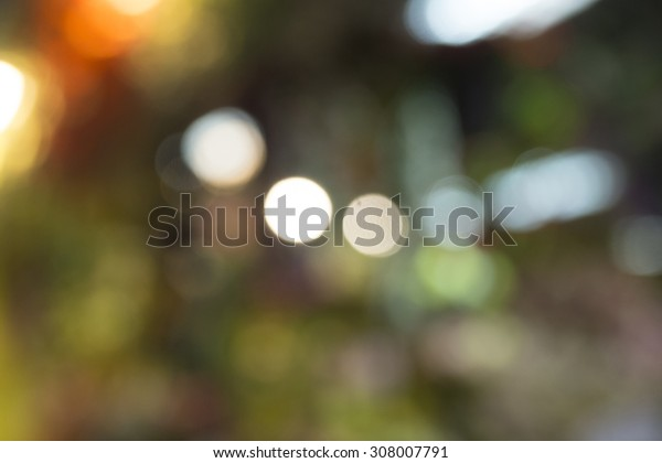 Beautiful bokeh backgrounds can add a sparkle