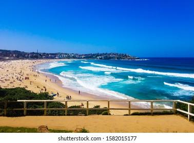 Beautiful Bondi Beach in Australia