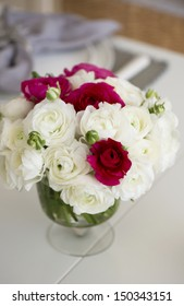 Beautiful bouquet of  ranunculus