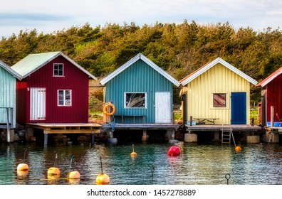 From Beautiful Breviks Fishing Harbor on the Southern Koster Island, Sweden