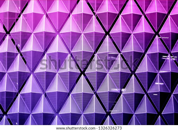 Beautiful bright abstract photo background with a purple wall and geometry