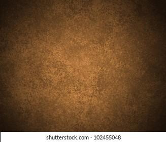 beautiful brown background illustration design with elegant dark brown vintage grunge background abstract texture and black vignette frame on border for ad or brochure template, old brown paper